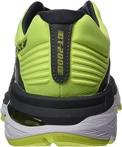 Asics Gt-2000 6 Lite-Show, Zapatillas de Running para Hombre, Gris (Dark Greydark Greysafety Yellow 9595), 39 EU: Amazon.es: Zapatos y complementos