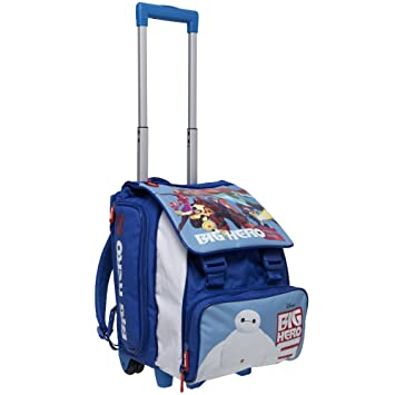 Big Hero 6 Kids Trolley Backpack Cabin Bag Kids Hand Luggage ...