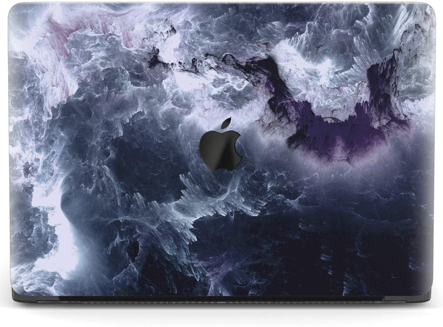 Mertak Hard Case Compatible with MacBook Pro 16 Air 13 inch Mac 15 Retina 12 11 2020 2019 2018 2017 Misty Smoke Dark Protective Plastic Laptop Marble Gay Touch Bar Texture Cover Print Painting