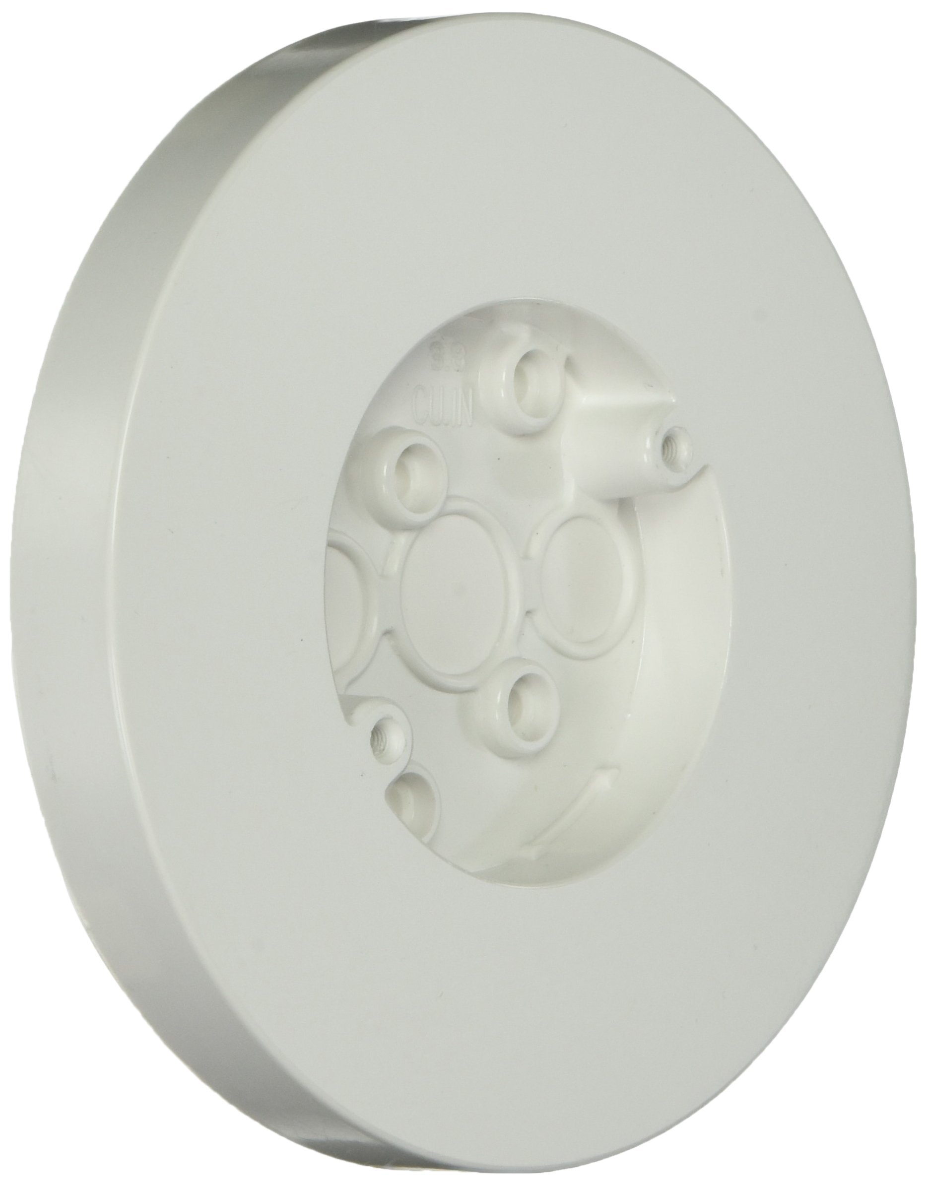 Thomas & Betts 5080-WH 3.8 cu. in. Round 2 Gang Surface Mount Box, White