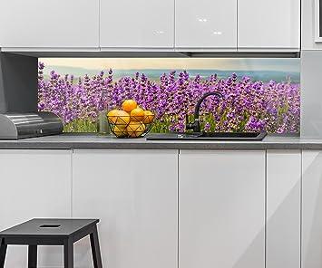Küchenrückwand Lavendel Nischenrückwand Spritzschutz Design M0411 ...