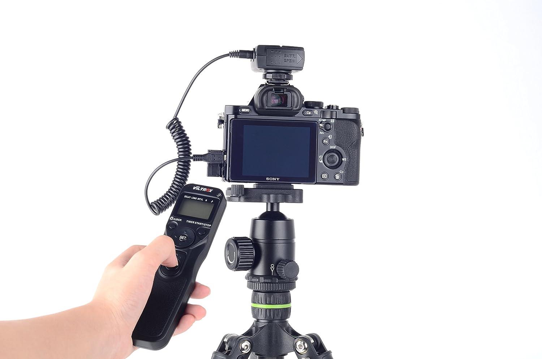 VILTROX JY-710-S2 Wireless Camera Timer Remote Control for Sony a58 A-77M2 A-7RM2 A5000 A6000 A7 A-7M2 A7R A7S