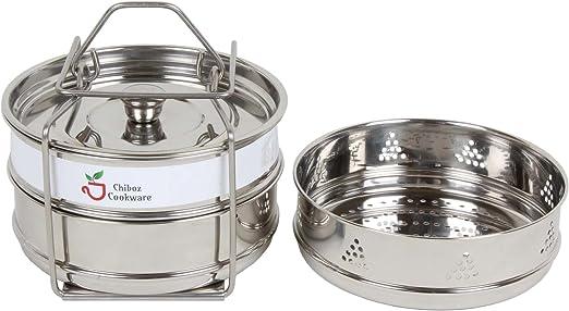 Amazon.com: Chiboz Cookware - Olla apilable con asa ...