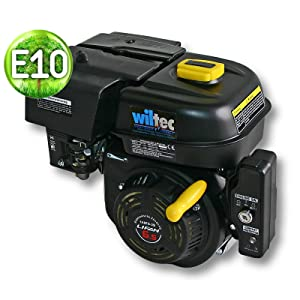 WilTec Motor de Gasolina LIFAN 168 4,8kW (6,5PS) 19,05mm con Motor de Kart E-Start