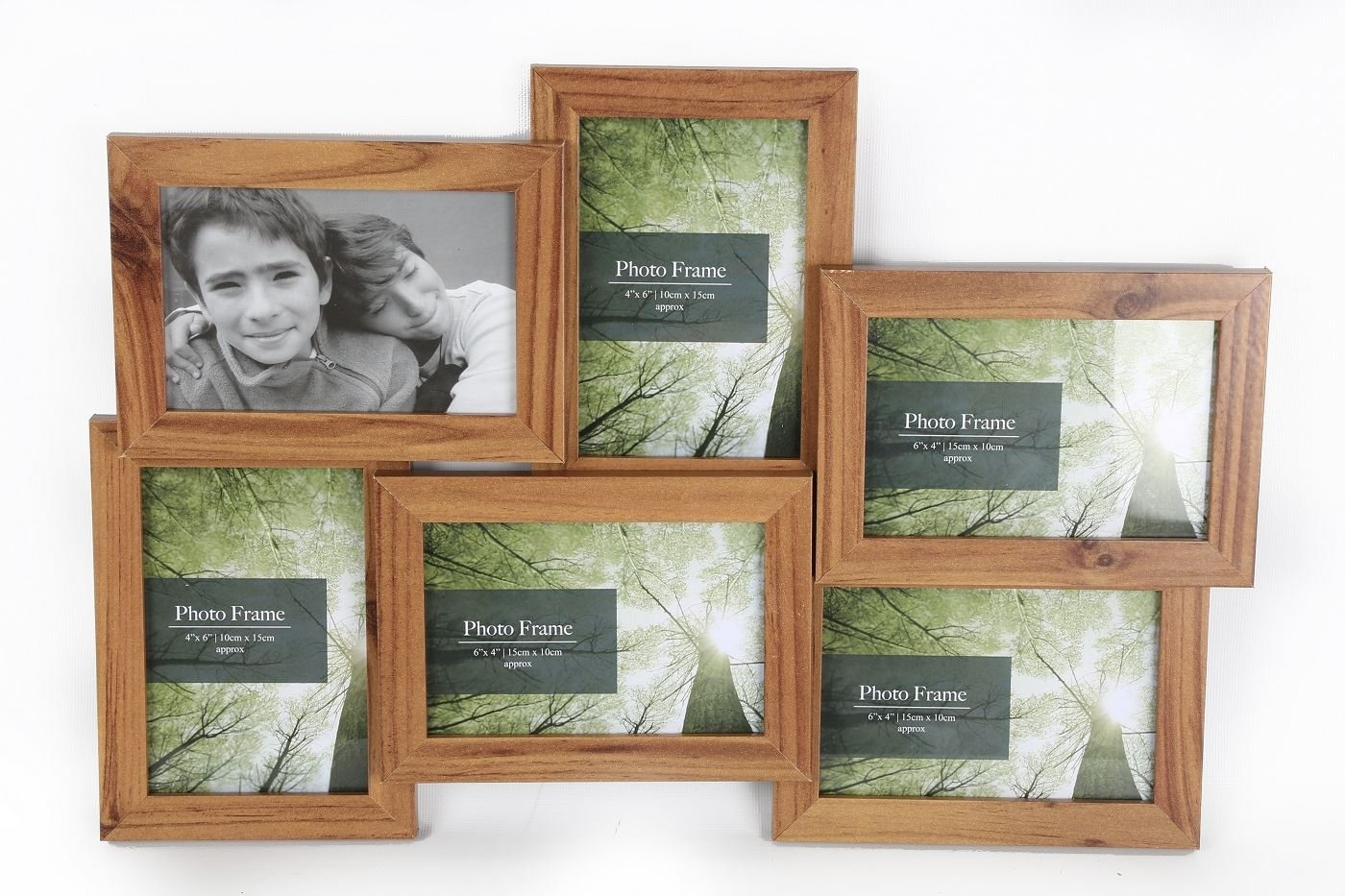 Standing & Wall Mounted 4 Picture Photo Frame 4\