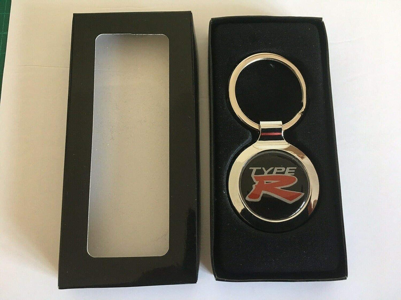 Keychain /& Keyring with Honda Type R Logo Valet