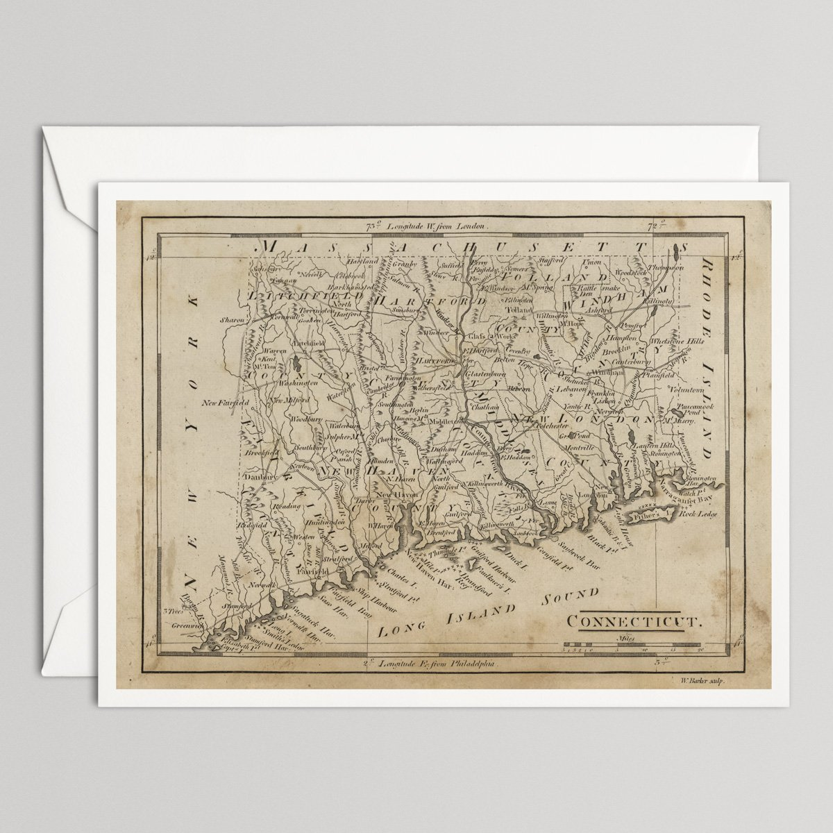 Amazon.com: Connecticut Old Map Large Note Card with ... on map food, map clocks, map colors, map luggage tags, map magnets, map napkins, map boxes, map party favors, map plastic, map of peru, map pencils, map downtown los angeles, map ties, map brochures, map test sheets, map name tags, map rubber stamp, map scales, map markers, map stickers,