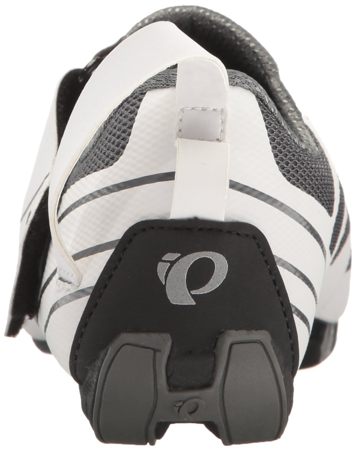 Pearl iZUMi Women's W Tri Fly Select V6 Cycling Shoe, White/Shadow Grey, 42 EU/10 B US by Pearl iZUMi (Image #2)