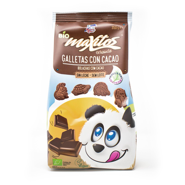 Galletas Maxitos con cacao BIO - La Finestra sul cielo ...