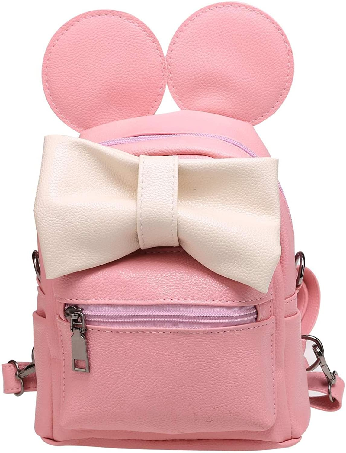 FANEO girl s shiny attractive practical relaxed casual backpack girl s abstract fine reduced age atmosphere three-dimensional backpack Kids Luggage