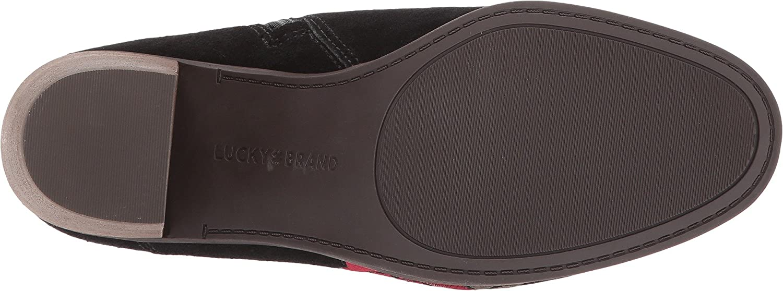 Lucky Brand Women's Pexton Ankle Boot B076955NCK 8 B(M) US|Black Rose