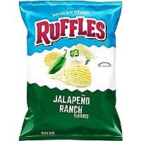 Ruffles Jalapeno Ranch Potato Chips, 184.2g