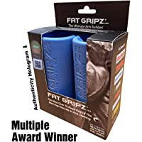 "Fat Gripz - The Award-Winning Shortcut To Head-Turning Arms (2.25"" Diameter, Best Seller, Original, Blue)"