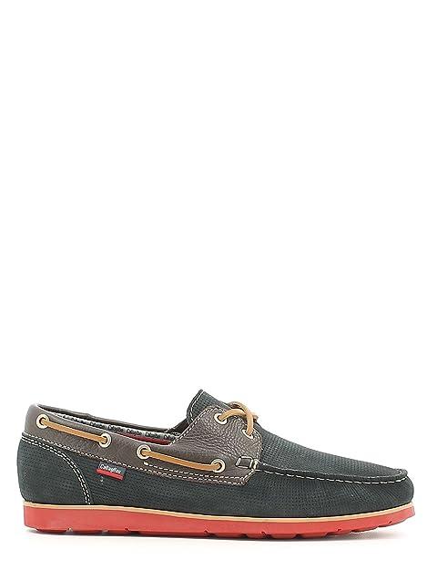 CallagHan 80804 Mocasines Hombre Azul 40: Amazon.es: Zapatos y complementos