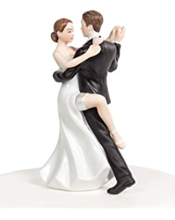 Amazon.com: Weddingstar Soccer Player Groom Mix & Match Cake Topper ...