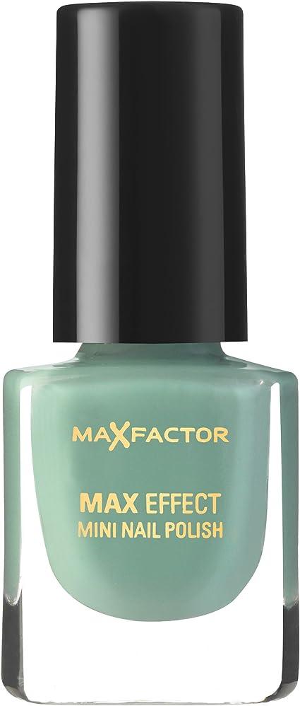 Max Factor Efecto Mini esmalte de uñas 27 Enfriar Jade, 1er Pack (1 x 4.5 ml): Amazon.es: Belleza