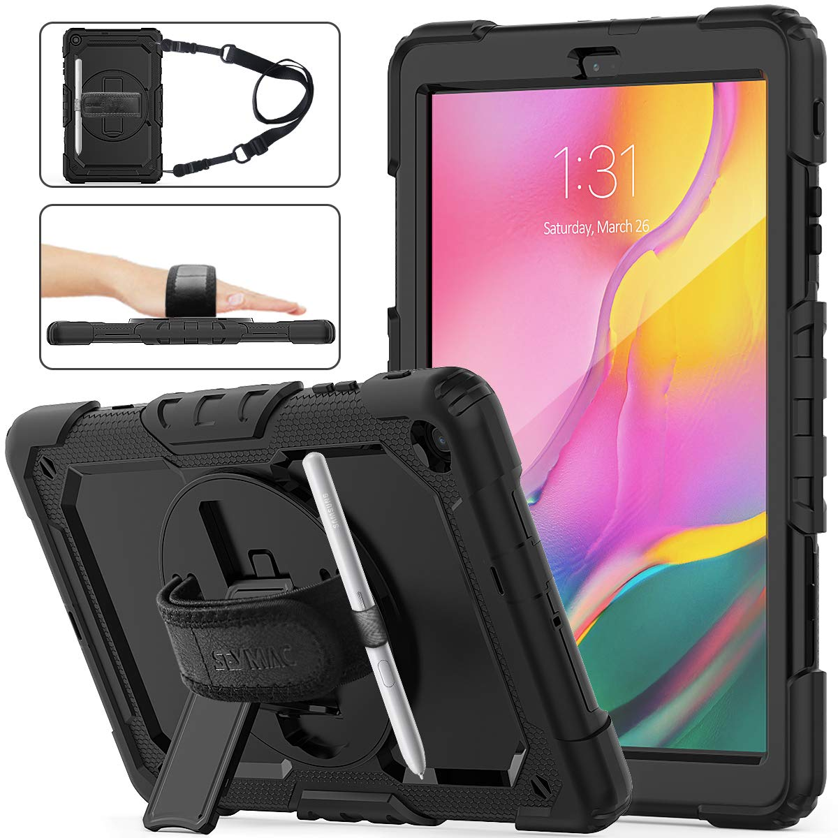 Funda Samsung Galaxy Tab A 10.1 SM-T510 (2019) SEYMAC [7T5KZR9J]