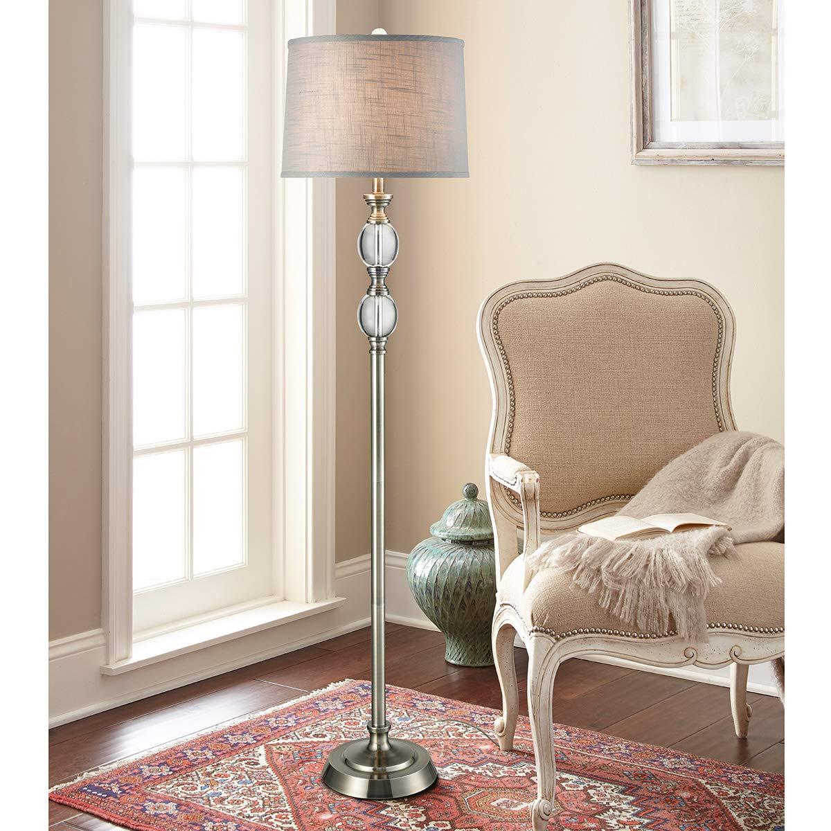 Amazon.com: Lámpara de pie de cristal LED: Home Improvement