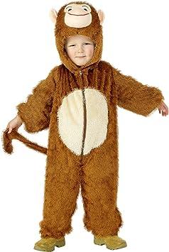 Smiffys 30800- Disfraz de mono para niño, talla 4-6 años: Smiffys ...
