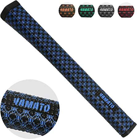 yamato Golf Putter Grips,Ultra Light Non-Slip Washable Soft Putter Grip with Ergonomics Pistol Shape to Improve Feedback and Tackiness - 5 Optional Colors