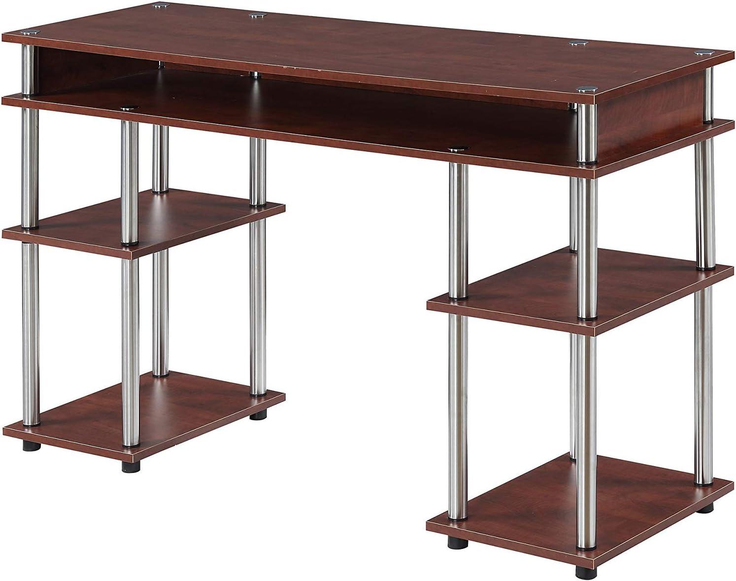 Convenience Concepts 131436CH Designs2Go Student Desk, Cherry