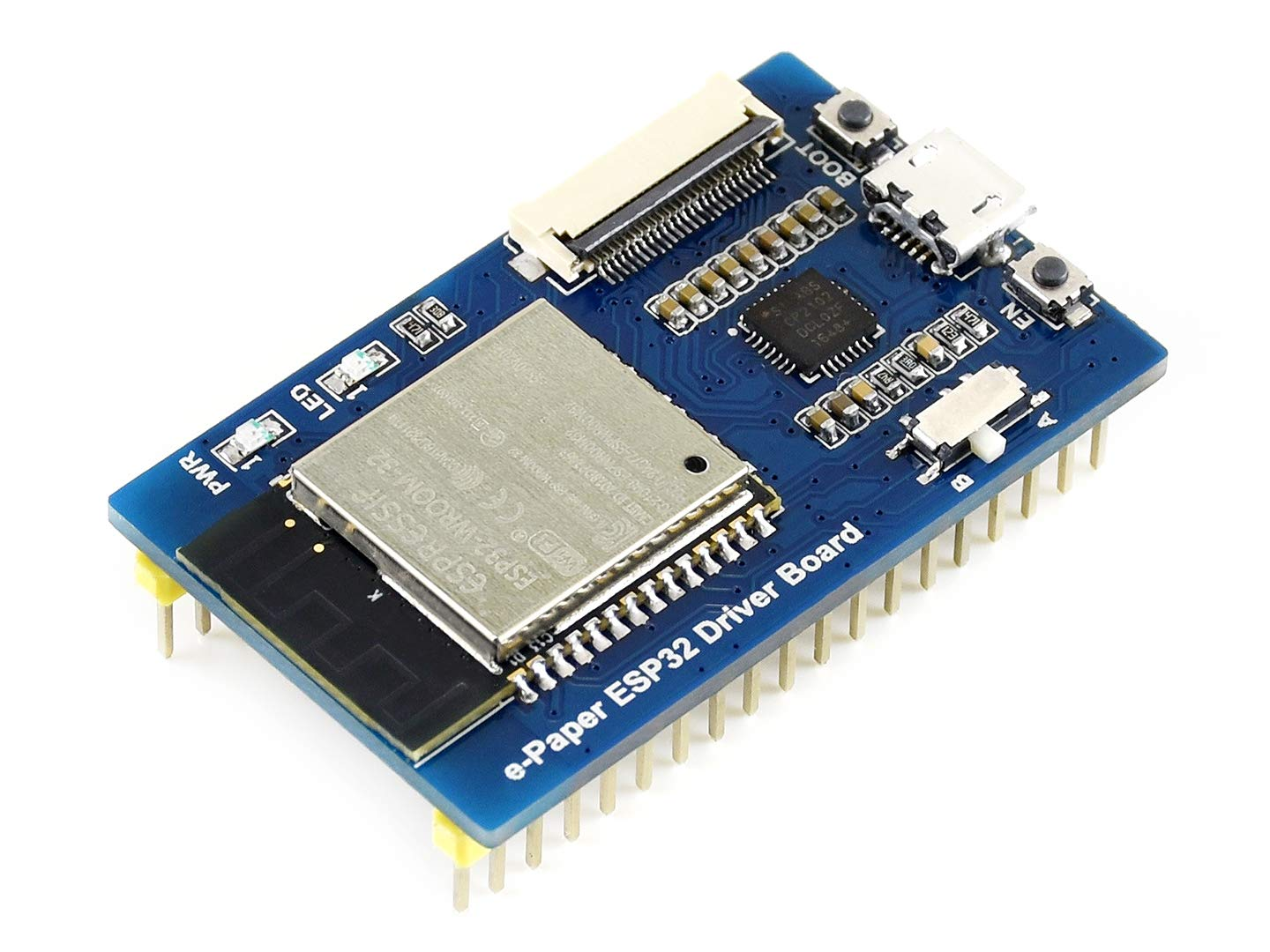 Waveshare Universal e-Paper Driver Board with WiFi and Bluetooth SoC ESP32 onboard Supports Various Waveshare SPI e-Paper raw Panels