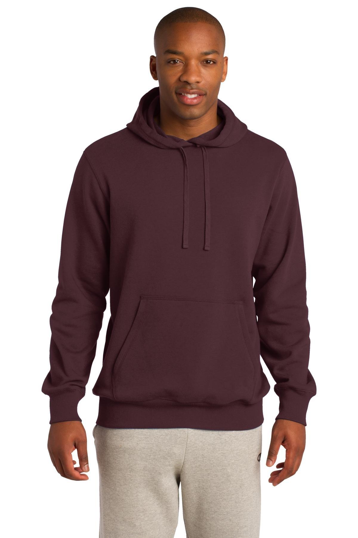 Sport-Tek Men's Pullover Hooded Sweatshirt XL Maroon by Sport-Tek