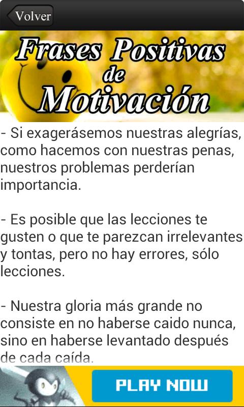 Amazon Com Frases Positivas De Motivación Appstore For Android