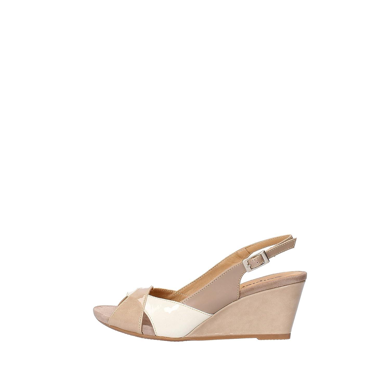 - CALPIERRE Sandals Womens Leather Beige