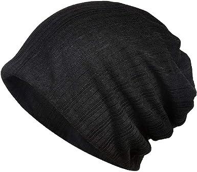 White chemo hat stretchy men beanie chemotherapy hair loss cap cancer skull cap