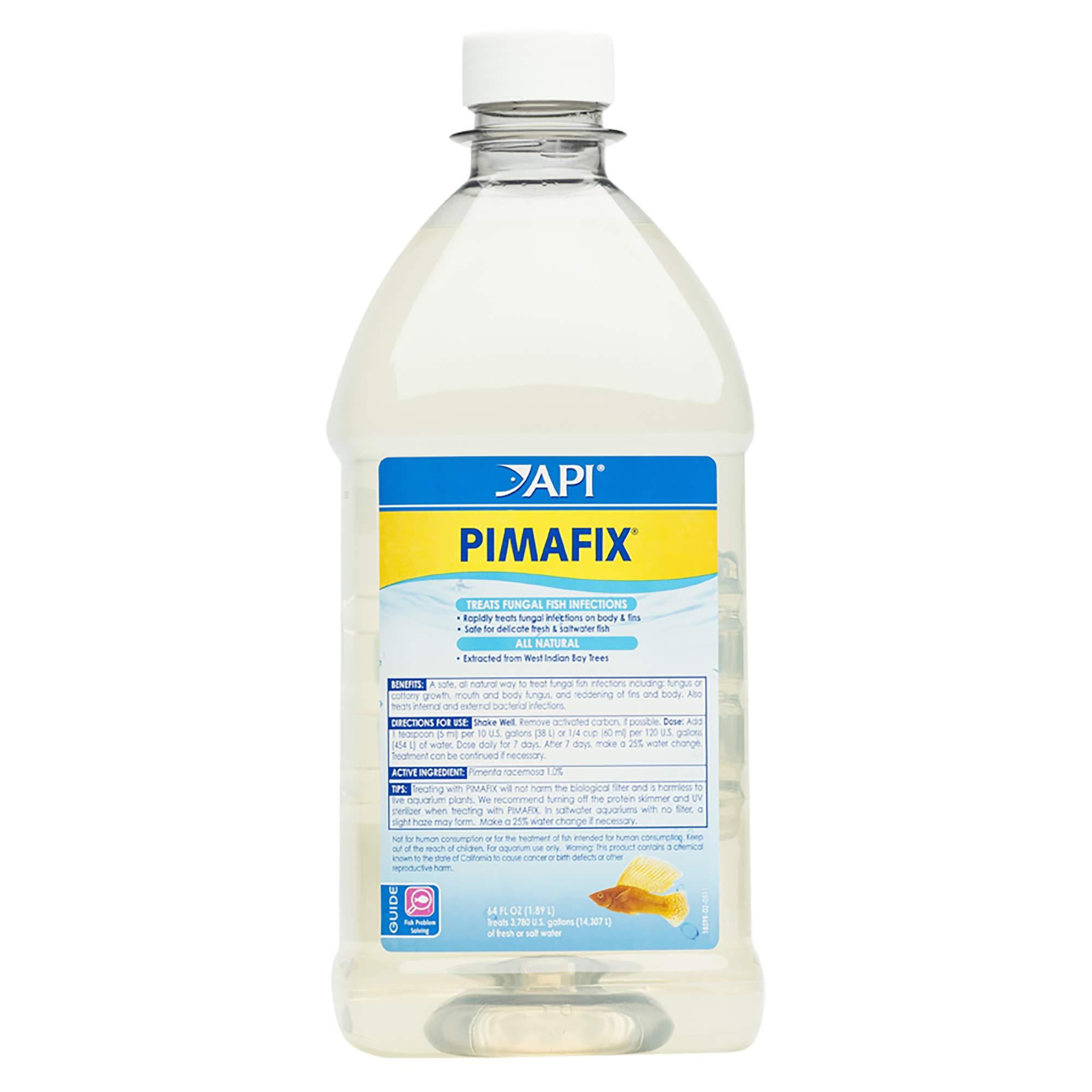 API Pimafix Antifungal Freshwater & Saltwater Fish Remedy 64 oz Bottle by API