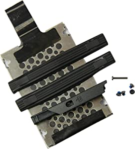 """Brands Replacement New T61 15.4"""" HDD Caddy Hael Drive Disk Caddy Full Set for IBM Thinkpad"""