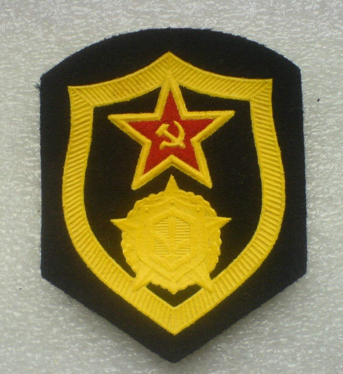 Chemical Corps Patch USSR Soviet Union Russian Armed Forces Military Uniform Cold War Era