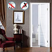 HXPH Magnetic Screen Door, No Nails Required, Full