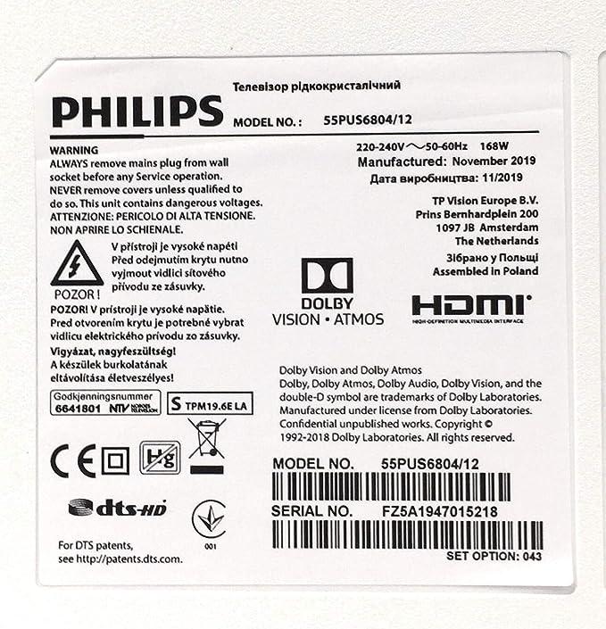 Philips 6800 Series 55PUS6804/12 55