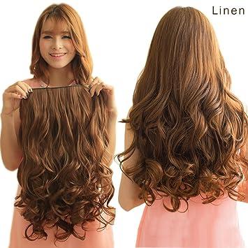 Amazon reecho 16 1 pack 34 full head curly wavy clips in reecho 16quot 1 pack 34 full head curly wavy clips in on pmusecretfo Images