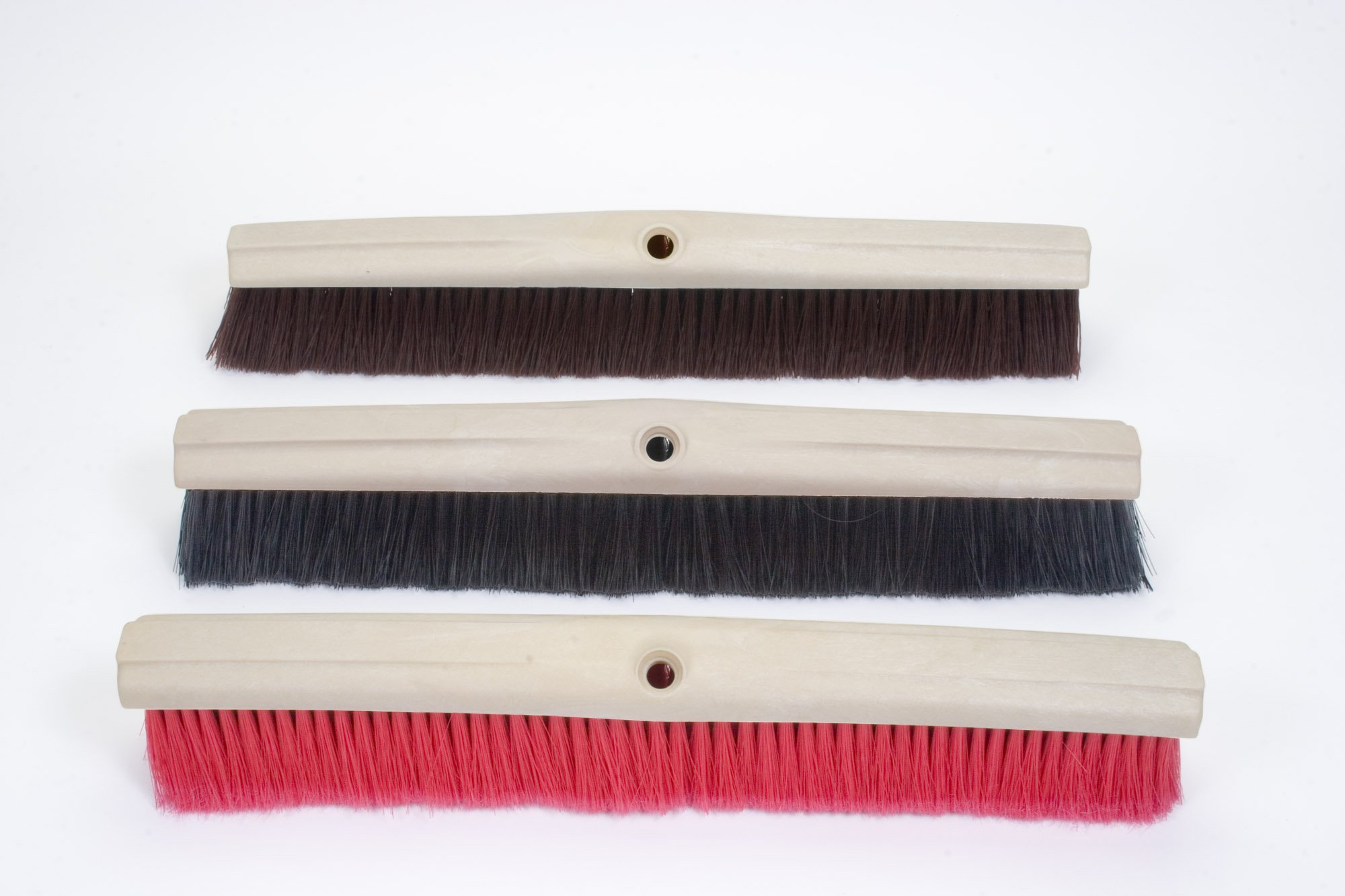 24'' Push Broom with Hard Bristles (Box of 3)