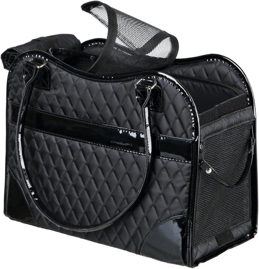 TRIXIE Bolsa Amina, 18 × 29 × 37 cm, Negro, Perro