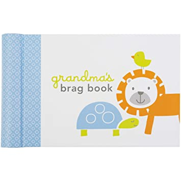 Amazoncom Cr Gibson Monkey Pals Grandmas Brag Book Photo Album