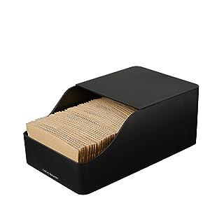 Mind Reader SLED-BLK Coffee Sleeve Storage Dispenser Organizer, Black