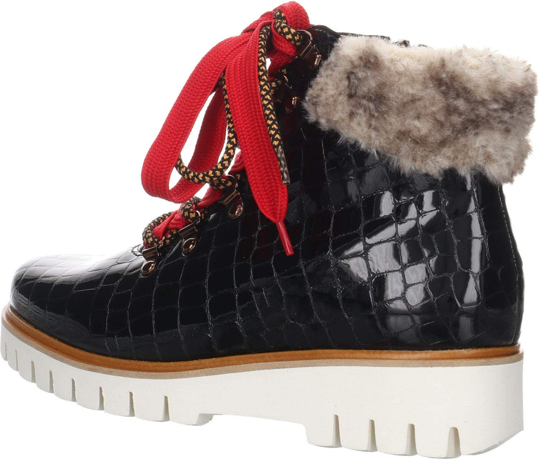 ARA Dames Jackson 1216448 Combat Boots zwart zwart teak 66