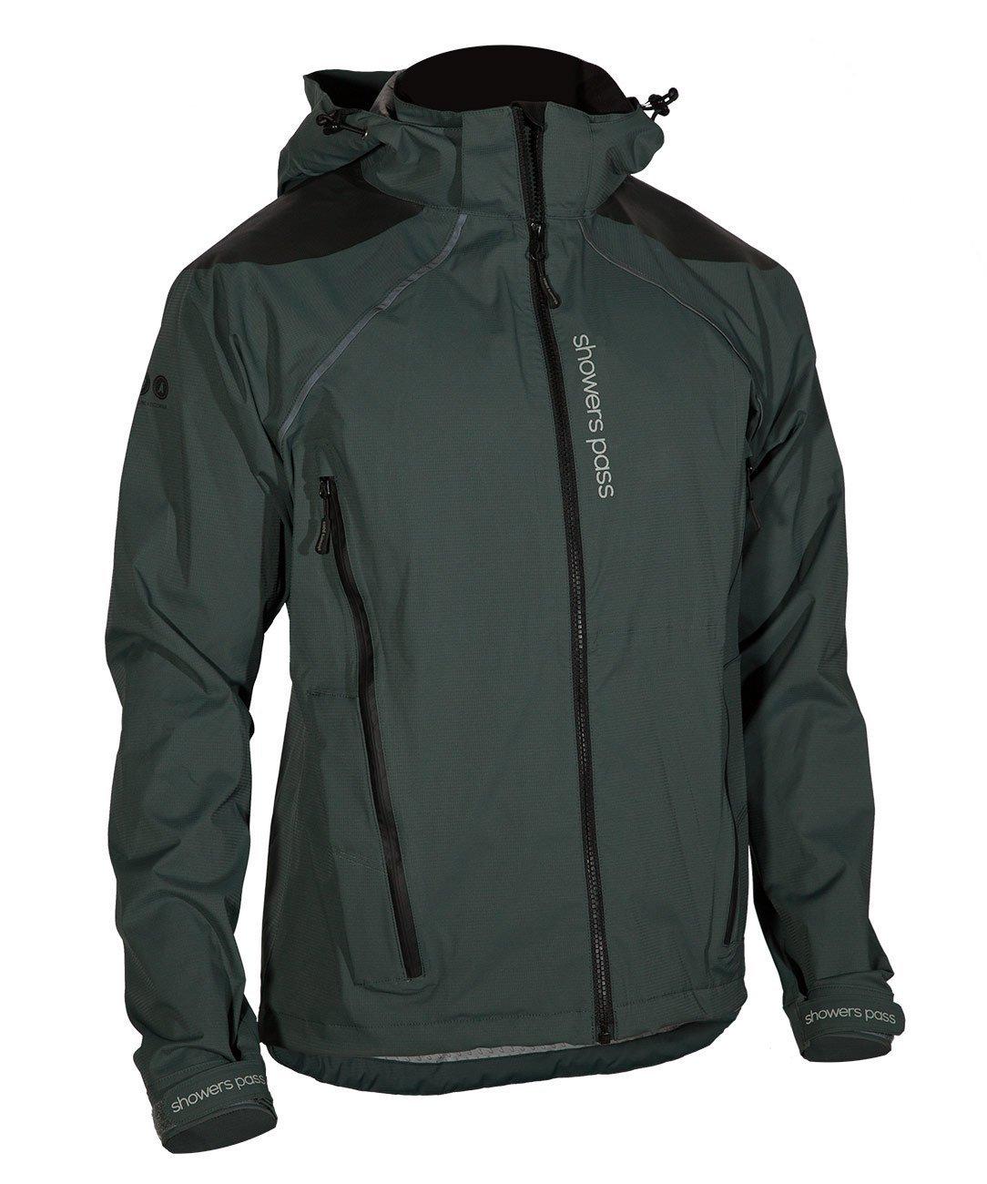 Showers Pass Men's IMBA Waterproof/Breathable Hard Shell Cycling Jacket