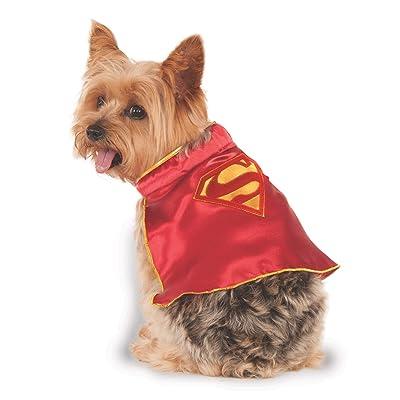 DC Comics Super Girl Pet Cape, Medium: Toys & Games