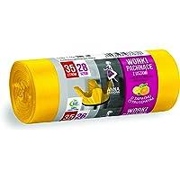 ANNA ZARADNA ST-AZ-033638 worki na śmieci z uchwytami o pojemności 35 l | 28 sztuk | zapach cytrusowy | worki na śmieci…