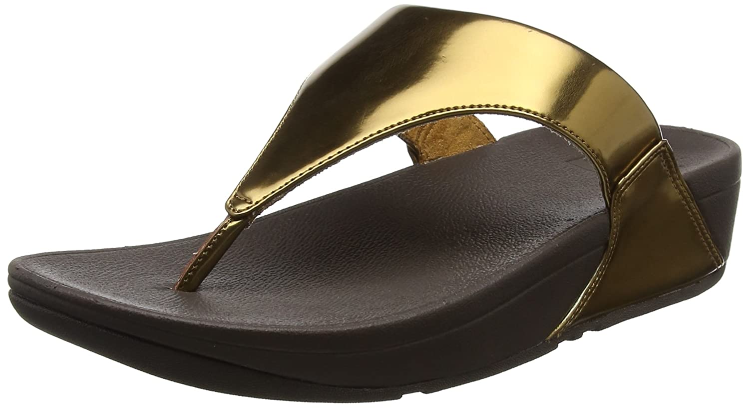fd8aef7b8f45 Fitflop Women s s Lulu Toe-Thong Sandals - Mirror Open  Amazon.co.uk  Shoes    Bags