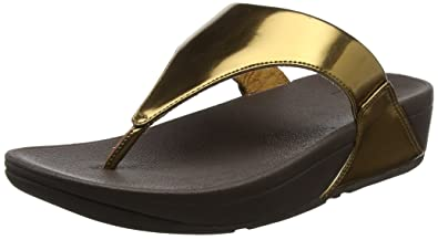 a82d809f1920d8 Fitflop Women s s Lulu Toe-Thong Sandals - Mirror Open  Amazon.co.uk ...
