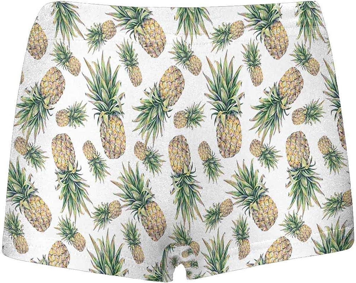 INTERESTPRINT Boys Pineapple Boxer Brief Underwear 5T-2XL
