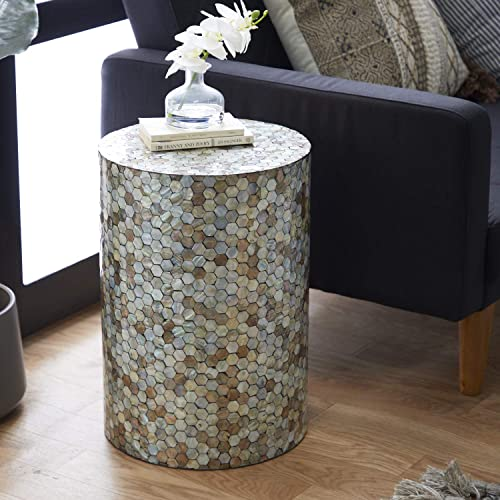 Deco 79 48985 Small Round End Table