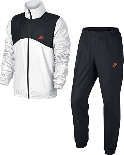 Nike M NSW TRK Suit Wvn Halftime Chándal, Hombre, Blanco (White ...