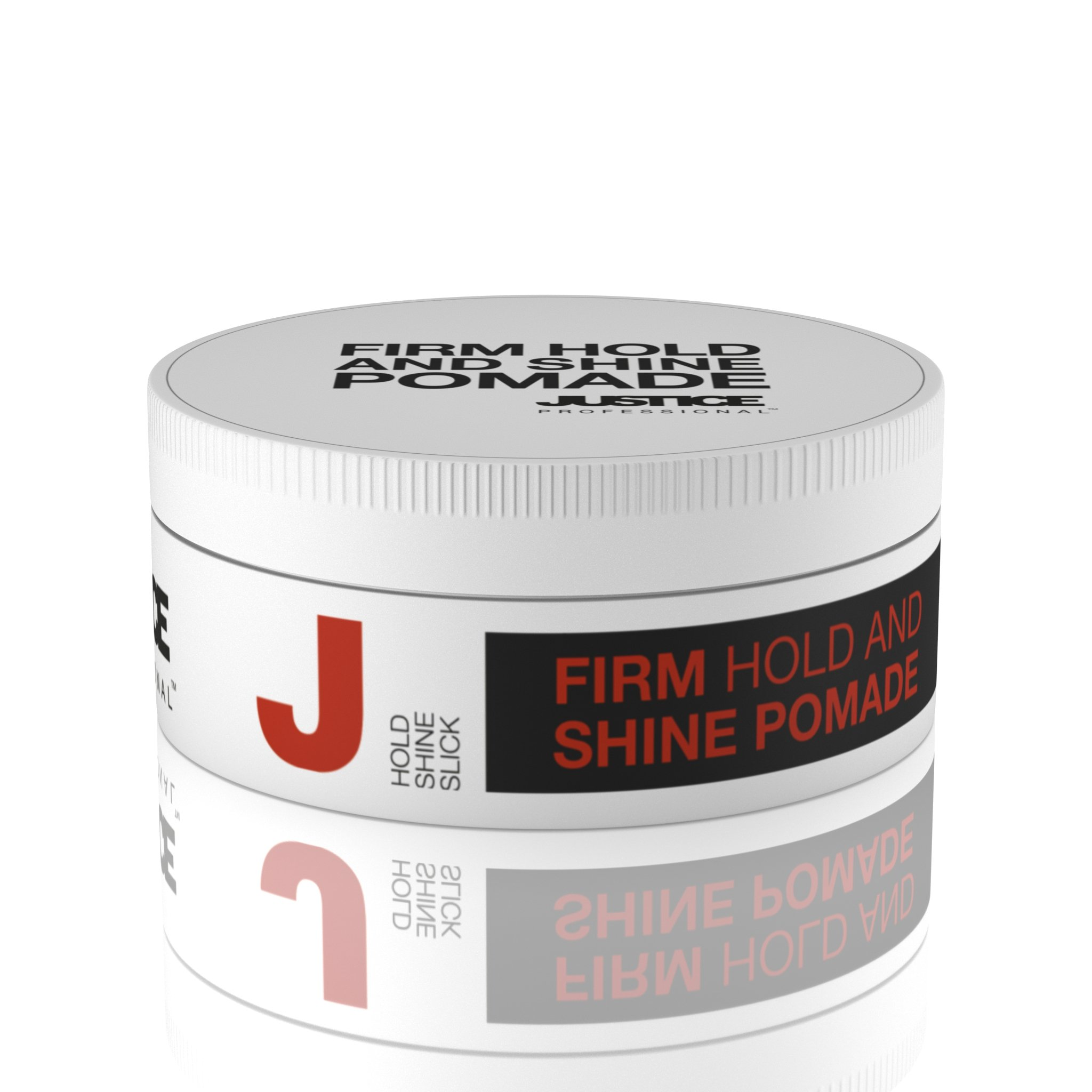 Super Hold Pomade - Natural Styling Paste Hair Product for Men and Women | Defines Curls and Waves | Add Volume and Shine to Your Slick Back or Classic Wet Look Style /JUSTICE Professional 100ml 3.4oz